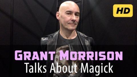 Grant Morrison on Sigil Magick, Psychedelics, Reality and the Occult [Remaster]
