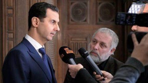 Bashar Al Assad Interview with Belgian Media