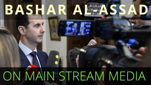 Bashar Al Assad on the Failure of Western Media