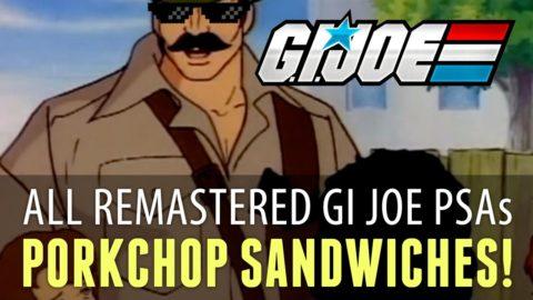 G.I. Joe PSA Compilation - [Remastered HD]