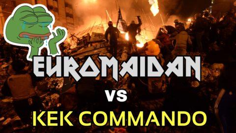 Kiev Riots: EuroMaidan vs KEK COMMANDO by CYBERN∆ZI