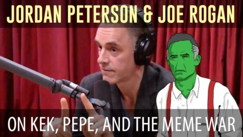 Jordan Peterson on Pepe, KEK Origin, Meme Wars, Mythology and the Age of Chaos