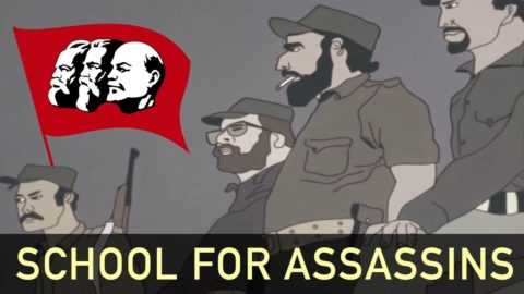 School for Assassins - US Anti-Communist Propaganda Cartoon [1982]