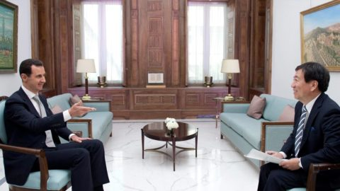 Syrian President Bashar Al Assad: Interview with Japanese News Agency