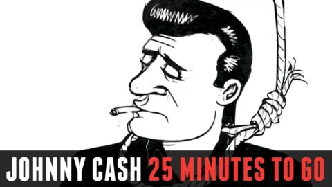 Johnny Cash - 25 Minutes to Go Cartoon [HD]