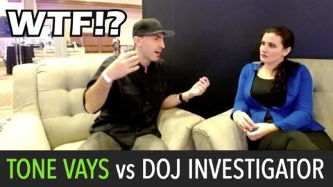 DOJ Investigator Silenced During Tone Vays Interview