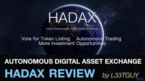 HADAX Exchange: Review & Tutorial